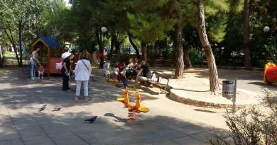 Πάρκο Χολαργού εδώ που συναντιέται το παιχνίδι, με τη χαρά και την ξεγνοιασιά!
