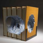 Guy Laramee: Βιβλίο-Γλυπτική !