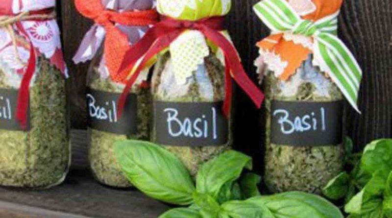 Φτιάξτε μόνοι σας γυάλες με αρωματικά φυτά !
