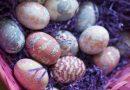 Βάψτε τα πασχαλινά σας αυγά με μετάξι ( video)