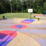 Γήπεδα μπάσκετ έργα τέχνης!!