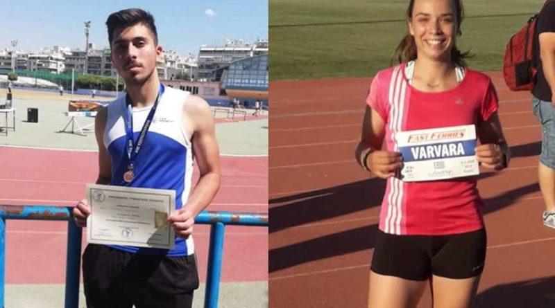 Βαρβάρα Ευαγγελία και Φάνης Μαυροδόντης. Οι αθλητές του ΓΑΣ Χολαργού που υπόσχονται πολλά!