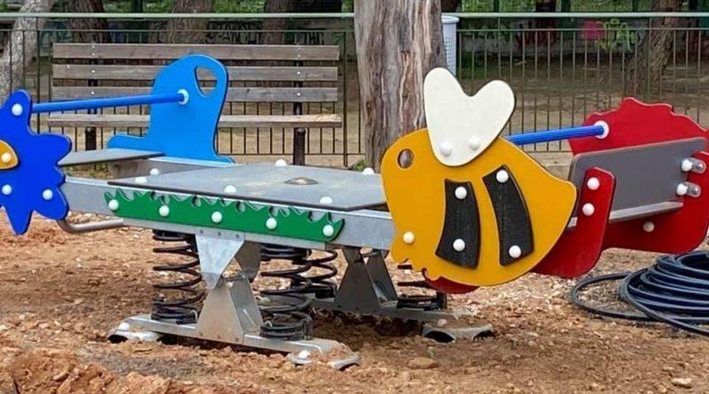 Αναβάθμιση της παιδικής χαράς του μεγάλου πάρκου Παπάγου