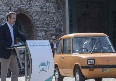 Κυριάκος Μητσοτάκης:  «Η πράσινη στροφή είναι μια επιλογή, πρώτα απ' όλα πολιτική»