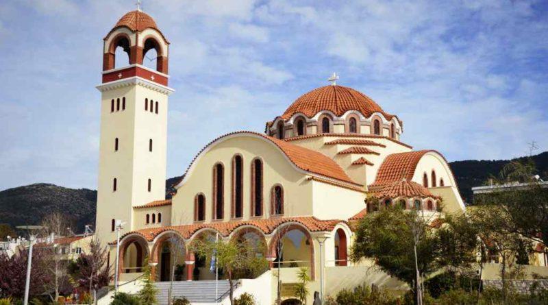 Πανηγυρίζει το παρεκκλήσι του Αγίου Παϊσίου στον Ι.Ν. Αγίου Γεωργίου Παπάγου